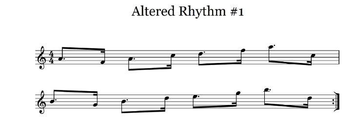 altered rhythm 1