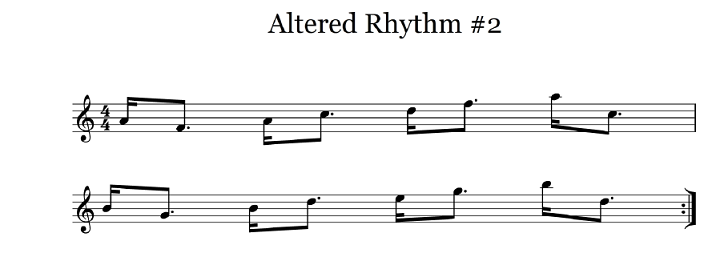 altered rhythm 2