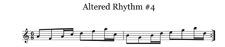 altered rhythm 4