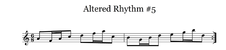 altered rhythm 5