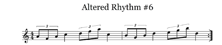 altered rhythm 6
