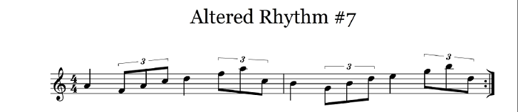 altered rhythm 7